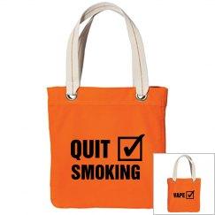 Quit Smoking Vape Check Bag