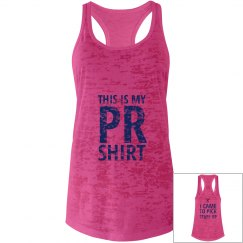 This is my PR shirt