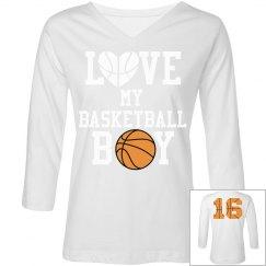 Love My Basketball Boy