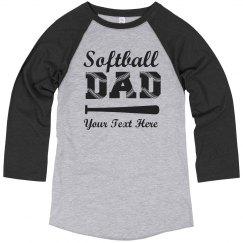 Custom Softball Dad Laces