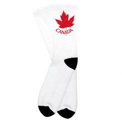 Canada Souvenir Socks Kid