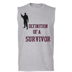 Survivor Muscle Tee