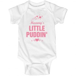 Mommy's little Puddin'