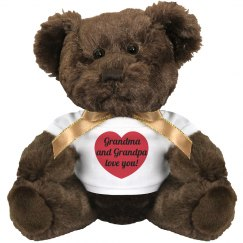 Grandparents Love You Teddy Bear
