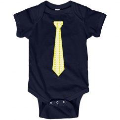 Yellow Long Tie