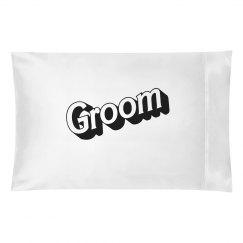 Groom pillowcase