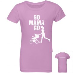 RLAM Go Mama Go Girls T
