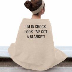 Sherlock Shock Blanket
