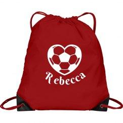 Soccer Drawstring Bags
