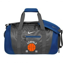 Custom Basketball Duffel