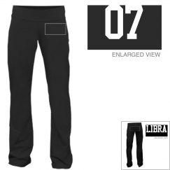Libra Sporty Zodiac Yoga Pants