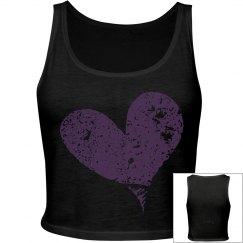 Heart tank top