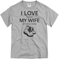 Love wife, love hiking
