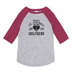 Funny Lil' Football Girlfriend