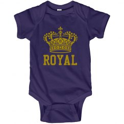 Royal Purple Baby Onesie