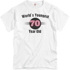 Youngest 70 year old