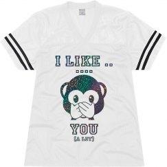 I like you (a lot) emoji