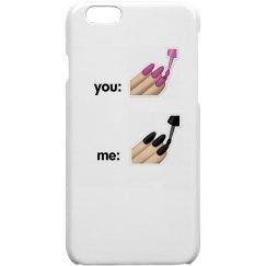 You vs Me (Nails) Case
