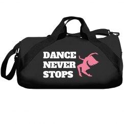 Dance never stops
