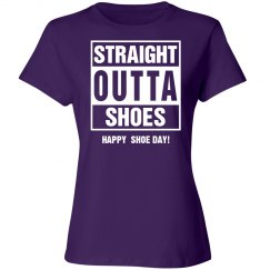 Straight outta shoes