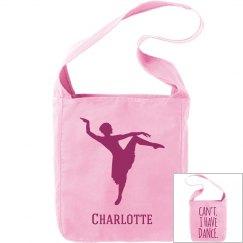 Charlotte. Ballet bag