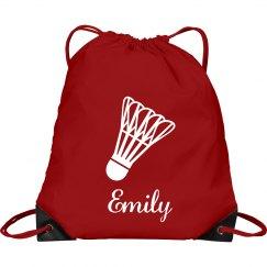 Emily. Badminton