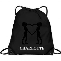 Charlotte cheer bag