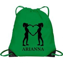 Arianna cheer bag