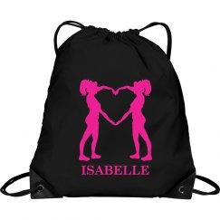 Isabelle cheer bag