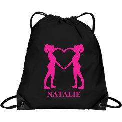 Natalie cheer bag