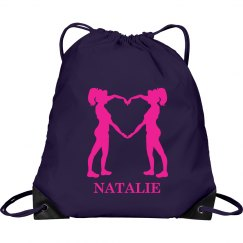Natalie cheer bag