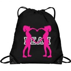 Leah cheer bag