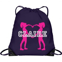 Claire cheer bag