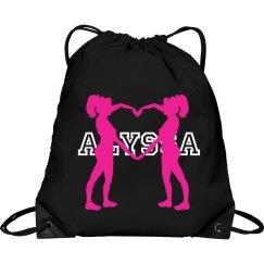 Alyssa cheer bag