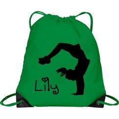 Lily cheerleader bag
