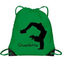 Charlotte cheerleader bag