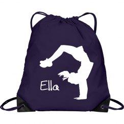 Ella cheerleader bag