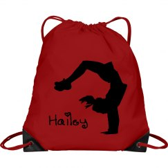 Hailey cheerleader bag