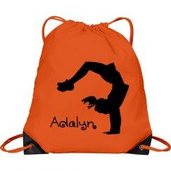 Adalyn cheerleader bag