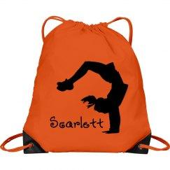 Scarlett cheerleader bag