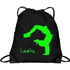 Leah cheerleader bag
