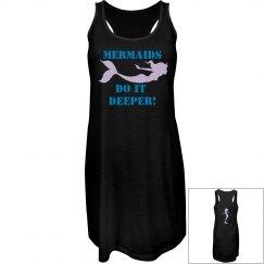 Mermaids do it deeper sun dress!