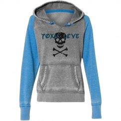 TOXICLOVE - misses raglan hoodie