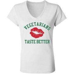 Vegetarians Taste Better