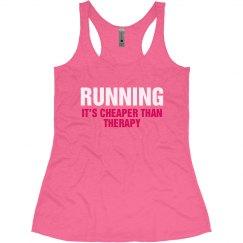 Running Is Cheaper