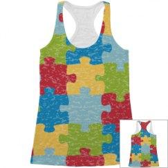 Autism tank top.