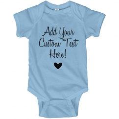 Custom Mothers Day Onesie Gift