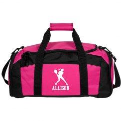 Allison custom tennis bag