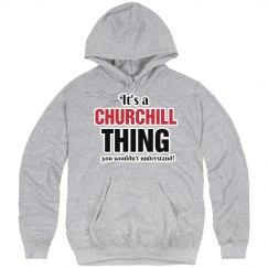It's a Churchill thing