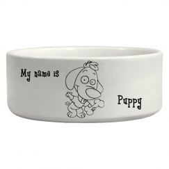 Puppy Love Pet Bowl